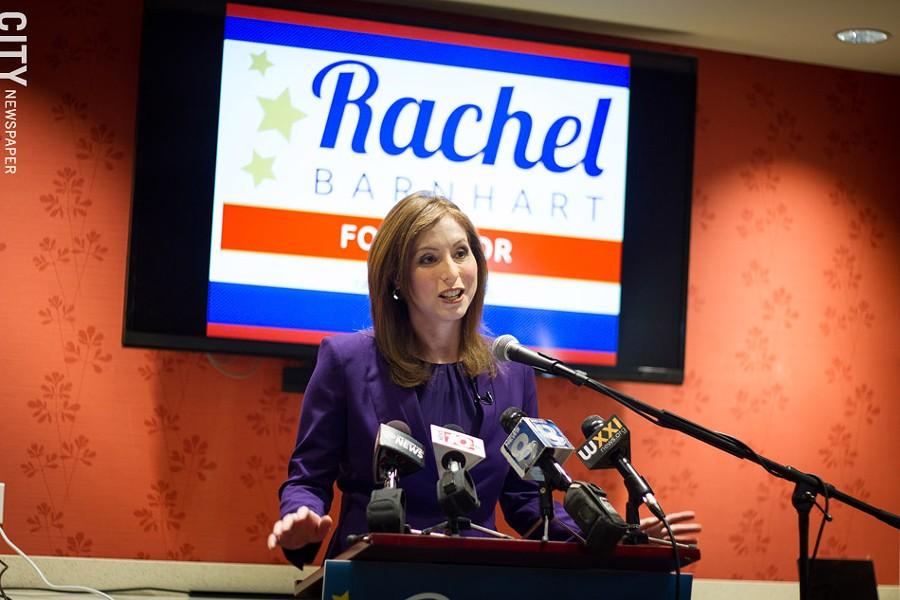 Rachel Barnhart - KEVIN FULLER
