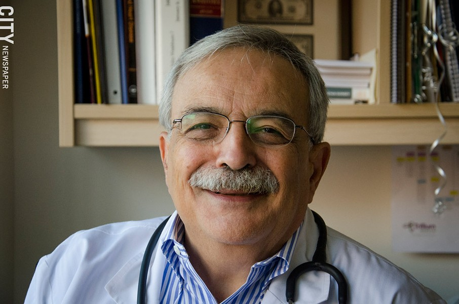 Rochester physician William Valenti. - PHOTO BY KEVIN FULLER