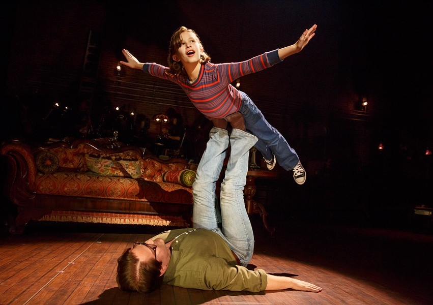 "Rochester Broadway Theatre League will host the Tony-winning ""Fun Home"" at the Auditorium November 14 through November 19. - PHOTO BY JOAN MARCUS"