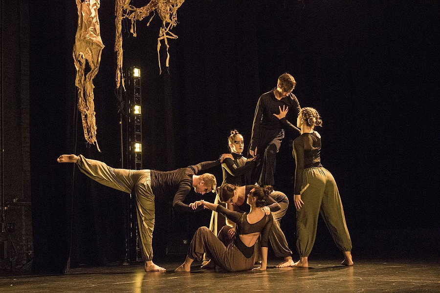 """Merged V"" was performed at Geva on Friday. - PHOTO BY ASHLEIGH DESKINS"