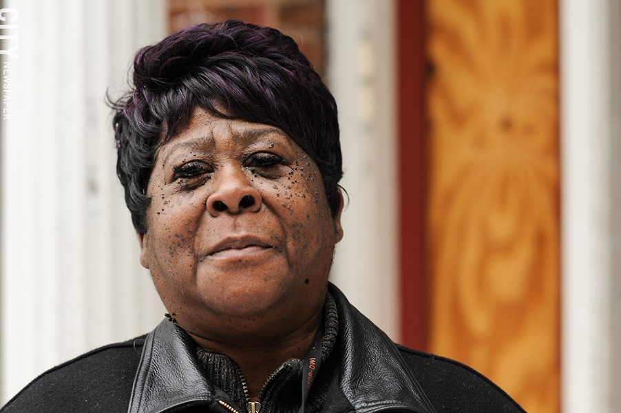 Kawanais Smith, a Southview Towers resident, says tenants have little recourse if a landlord isn't addressing problems. - PHOTO BY JEREMY MOULE