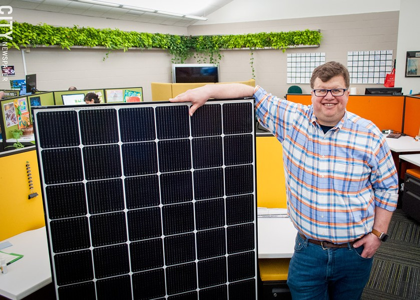 SunCommon's Kevin Schulte says the solar tariff  will most impact project development in markets where solar is already lagging. - PHOTO BY RYAN WILLIAMSON