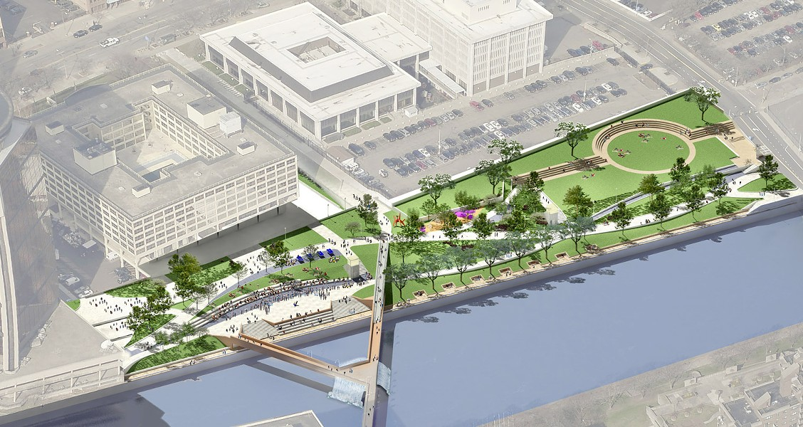 RENDERING PROVIDED BY THE CITY OF ROCHESTER