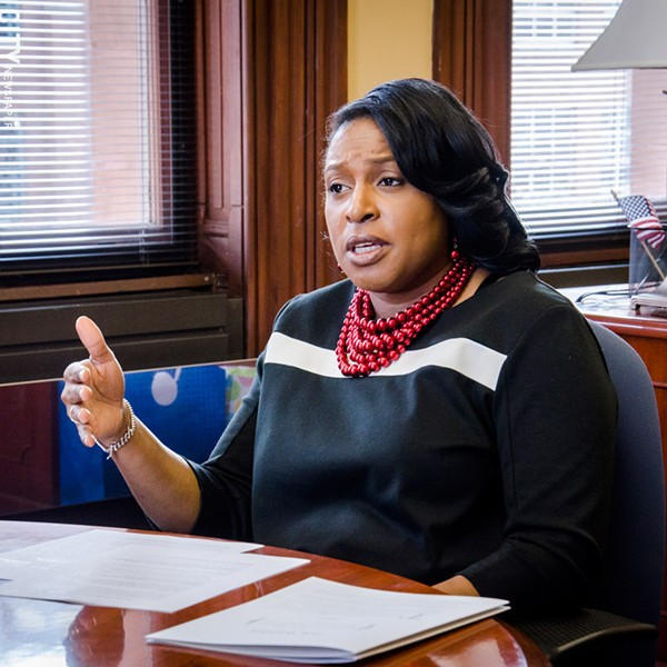 Rochester mayor Lovely Warren unveiled proposed budget for next year. - FILE PHOTO