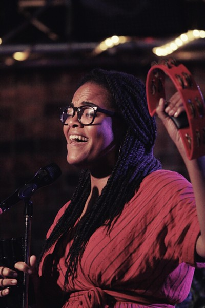 Liz Vice played Montage Music Hall on Wednesday as part of the 2018 Xerox Rochester International Jazz Festival. - PHOTO BY FRANK DE BLASE