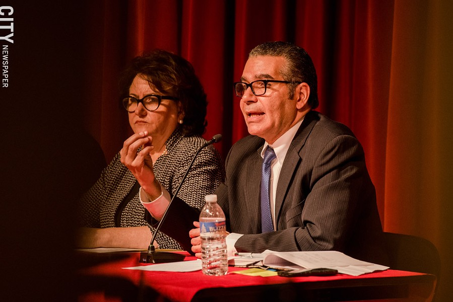 Jaime Aquino, the Rochester school district's state-appointed Distinguished Educator: Some serious problems are continuing. - FILE PHOTO
