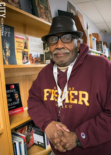 Curtis Rivers has owned and operated Mood Makers Books for 25 years. - PHOTO BY RENÉE HEININGER