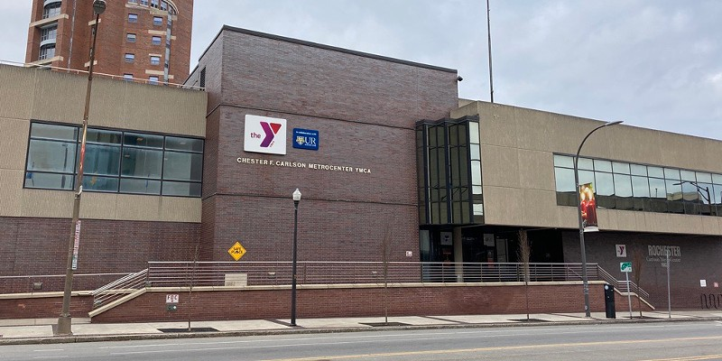 The YMCA of Greater Rochester told its members in an e-mail that it's temporarily suspending members operations at the Carlson MetroCenter.