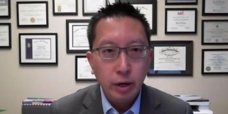 Monroe County Public Health Commissioner Dr. Michael Mendoza