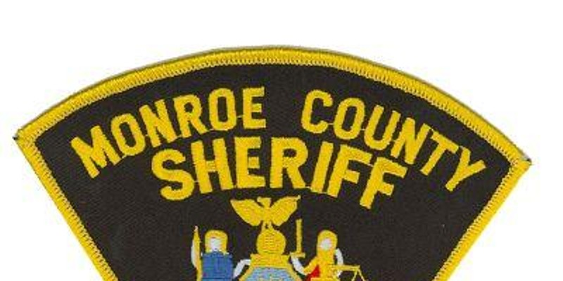 Monroe County Sheriff patch.