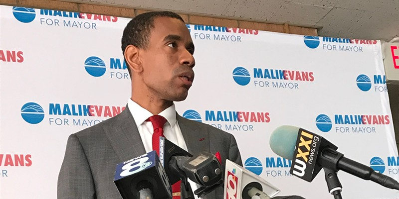 """The presumptive mayor-elect, Malik Evans, vowed a day after his Democratic primary win to run an """"organized, disciplined, and focused"""" administration."""