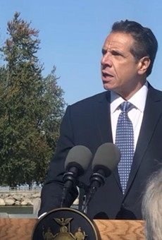 Governor Andrew Cuomo announced Wednesday that the state would sue the International Joint Commission for failing to regulate Lake Ontario's levels.