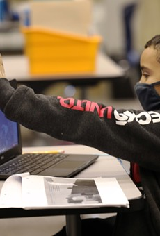 At the beginning of the pandemic, all schools moved to remote learning. Most districts are now using a hybrid blend of in-person and online instruction for students.