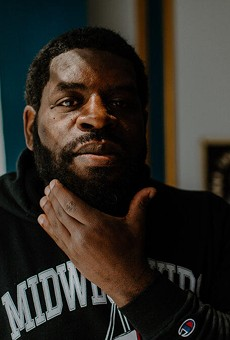 The poet and essayist Hanif Abdurraqib visits Rochester virtually on April 15 for Writers & Books's Visiting Authors series.