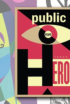 New art magazine Public Eye sees the heroes we need