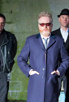 The Celtic punk band Flogging Molly plays Main Street Armory on Sept. 18, 2021.