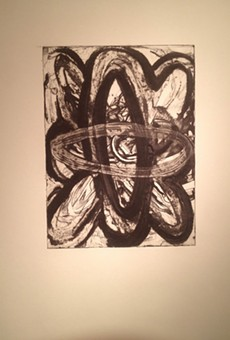 """""""Untitled #11"""" from Keith Howard's """"Atom"""" series, currently on view at Gallery r."""