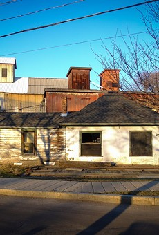 Wilmorite wants to redevelop 25 Schoen Place in the Village of Pittsford. The property is located in the village's popular canalfront business district.
