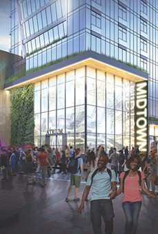 New renderings for the proposed RBTL theater show public use of adjacent streets.