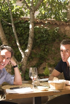 """Rob Brydon and Steve Coogan in """"The Trip to Spain."""""""