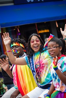 Marchers were having fun at this summer's ROC Pride Parade.