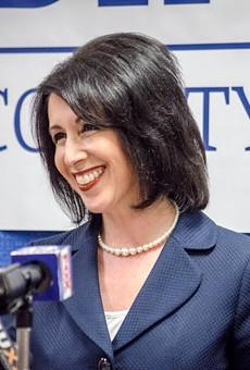 County Clerk Cheryl Dinolfo, a Republican, announced today that she'll run for Monroe County executive.