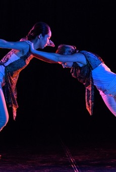 Rochester's contemporary repertory dance company, BIODANCE, this week celebrates its 12th anniversary with four collaborative concerts at Geva.