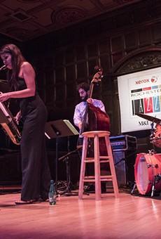 The Melissa Aldana Quartet played Kilbourn Hall on Saturday as part of the Xerox Rochester International Jazz Festival.