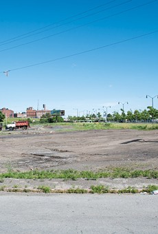 The City of Rochester could turn over a parcel of land on Industrial Street, near West Broad, to a community organization to operate as an encampment site for homeless people.