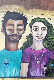 Returning WALL\THERAPY alum Alice Mizrachi's 2017 mural in Buffalo, New York