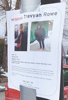 Flyer showing Trevyan Rowe as a missing person were posted around the city last year before the 14—year-old was found dead.