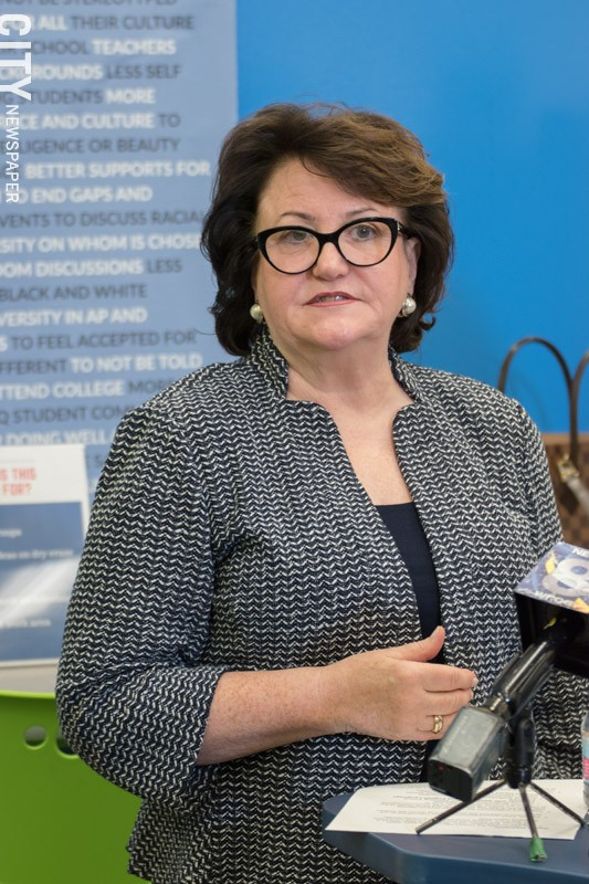 State Education Commissioner MaryEllen Elia's last day is August 31.
