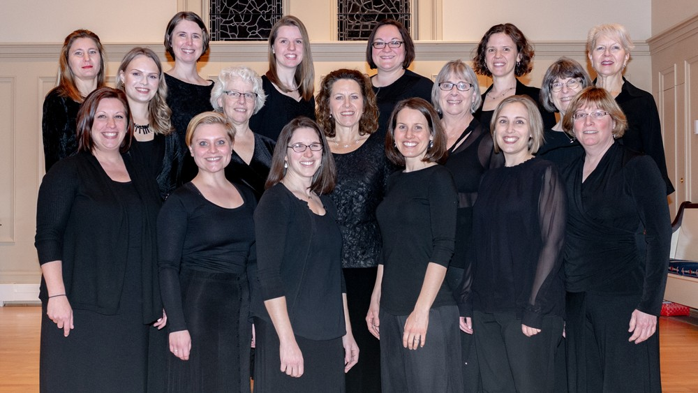 Concentus Women's Chorus continues to perform in a wide variety of styles — from early music to contemporary compositions under its new music director Anna Atwater. - PHOTO BY MICHEL GODTS
