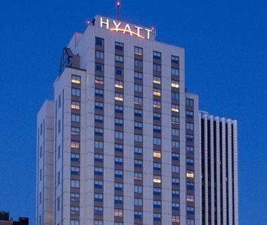 The Hyatt Regency hotel in downtown Rochester. - PHOTO PROVIDED BY HYATT REGENCY
