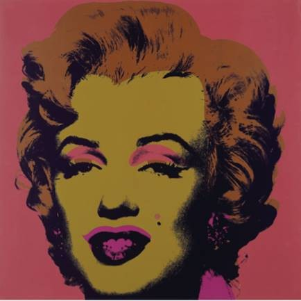 """Andy Warhol's famous Marilyn Diptych painting now on display at the Memorial Art Gallery through March 21, 2021, as part of the gallery's """"Season of Warhol"""" exhibit. - PHOTO BY MAX SCHULTE"""