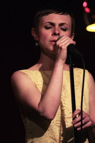 Kat Edmonson performed at Montage on Monday, June 22, during the 2015 Xerox Rochester International Jazz Festival. - PHOTO BY FRANK DE BLASE