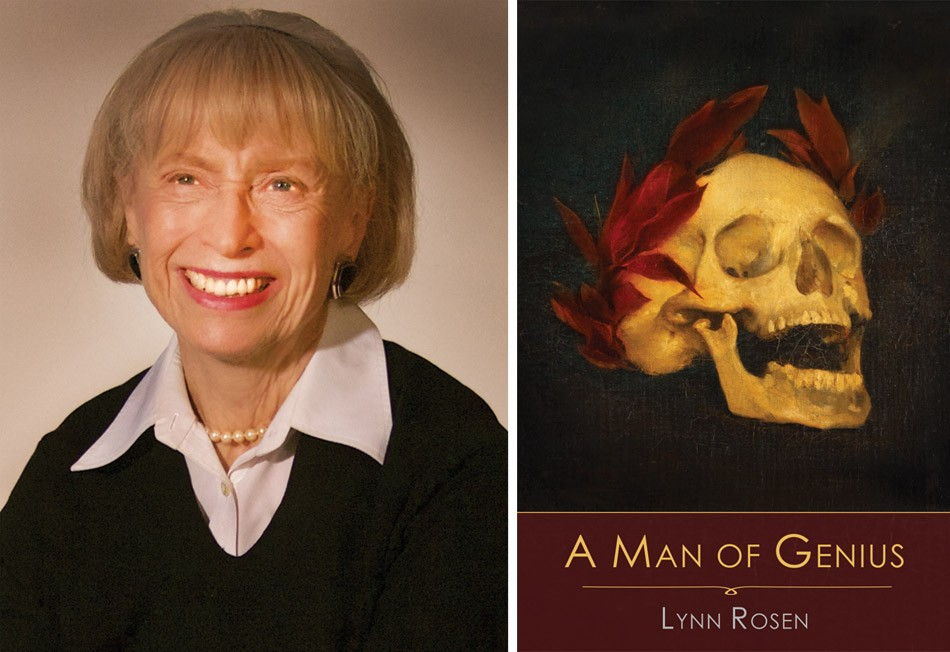 """Philanthropist, retired educator, and writer Lynn Rosen, 84, has released her first novel, """"A Man of Genius,"""" which considers how we handle our problematic heroes. - PHOTOS PROVIDED"""