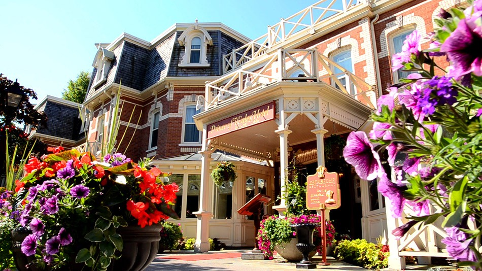 The Prince of Wales Hotel was built in 1864, and is now one of Niagara-on-the-Lake's most recognizable icons. - PHOTO BY DAVID COOPER