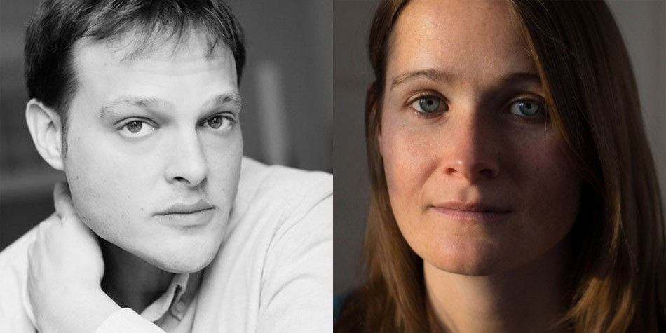 Garth Greenwell (left) and Hannah Tennant-Moore (right) are this year's author selections for Writers & Books' Debut Novel Series. - PHOTO PROVIDED