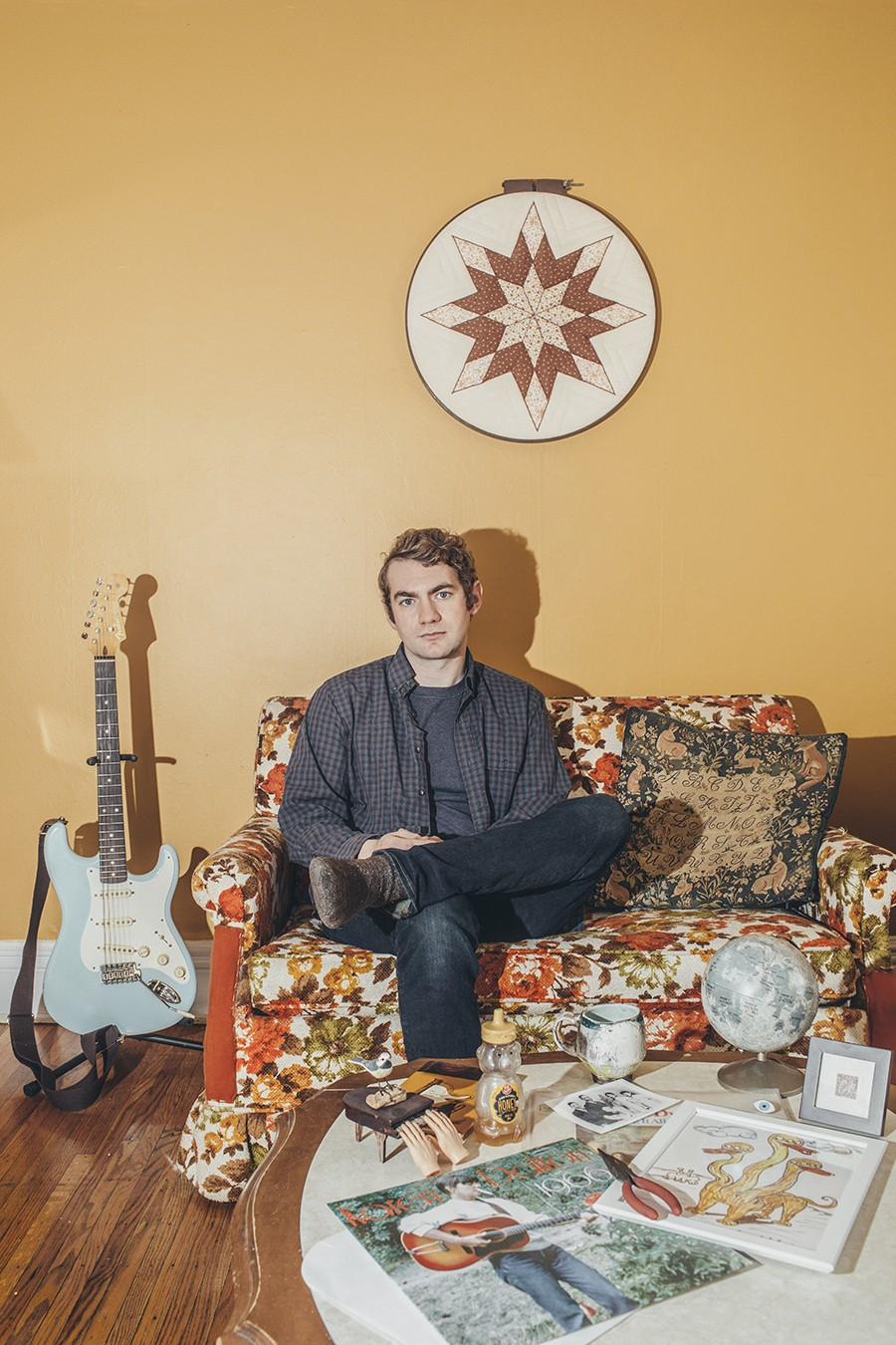 """Ben Morey opts for a scaled-down and somber sound on his new single, """"Negative Space."""" - PHOTO BY JEFF MARINI"""