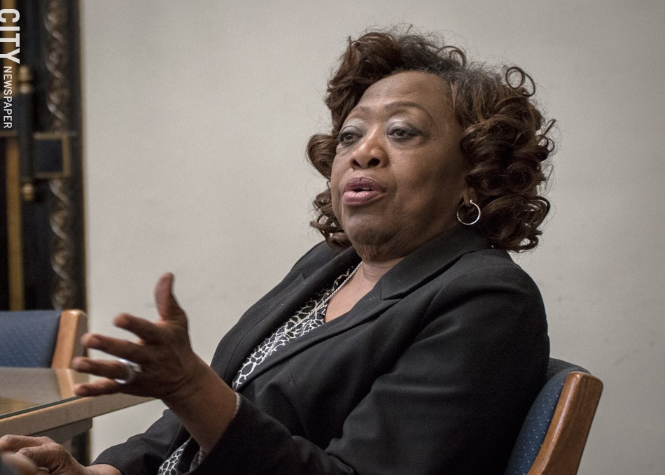City Council President Loretta Scott: Council has tried to take the proposal created by the activists and adopt as much of it as possible. - PHOTO BY RYAN WILLIAMSON