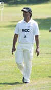 Rochester Cricket Club vice captain  Sambit Mohapatra