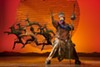 "Buyi Zama as Rafiki in ""The Lion King,"" currently being staged at The Auditorium Theatre."