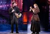 "Jake Levy as Dmitry and Lila Coogan as Anya in the national tour of ""Anastasia."""