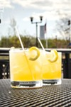 """Lovin' Cup's American Beauty, or as bartender Andrew Kern calls it, a """"rich man's whiskey sour."""""""