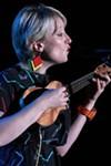Gwyneth Herbert performed in Christ Church on Monday.