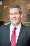 County Clerk Adam Bello: A Democrat in a high-profile county position.