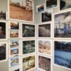 "Installation view of Dan Larkin's ""Take Me to the River,"" in Visual Studies Workshop's Project Space."