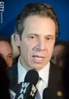NYS Governor Andrew Cuomo.