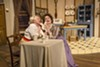 "<p>Dawn Sargent and Jillian Severin in ""The Underpants,"" onstage at Blackfriars Theatre through this weekend.</p>"